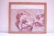 tableau : Degas, le tub