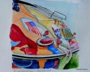 painting sport porsche 356 ,c janis joplin automobile : JANIS JOPLIN'S CAR