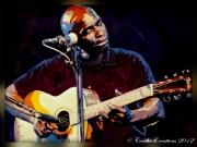 dessin personnages jazz blues chanteur guitare : jazz en image