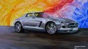 tableau sport automobile mercedes sls 63 amg coupe : MERCEDES SLS 63 AMG