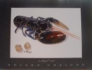 tableau animaux : le homard
