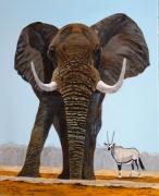 tableau animaux : le patriarche