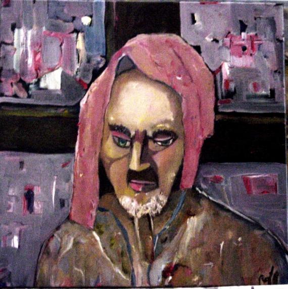 TABLEAU PEINTURE jesus portrait christ religion Personnages Peinture a l'huile  - Christ lear