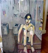 tableau personnages prison incarceration : Les poubelles de la prison