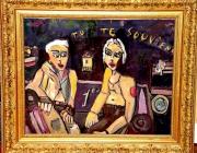 tableau personnages maison de retraite : LES VIEUX