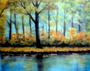 tableau paysages crepuscule aurore lumiere paysage : Crépuscule du matin