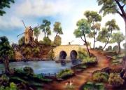 tableau : Le moulin