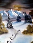 tableau : nuit d'hiver