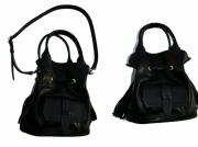 art textile mode sac celine noir cuir : Sac CELINE cuir NOIR