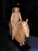 sculpture scene de genre tauromachie cheval corrida : Le picador