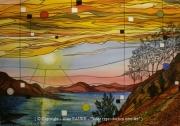 tableau paysages je viens du sud mediterranee michel sardou alain faure en peint : JE VIENS DU SUD