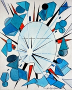 tableau abstrait palette rire peinture couleurs : RIRE DE PALETTE