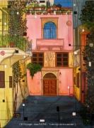 tableau paysages crete byzantin voyages alain faure en peint : ATMOSPHERE BYZANTINE