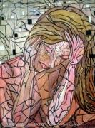 tableau personnages mado songes femme alain faure en peint : LES SONGES DE MADO