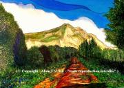 tableau paysages sainte victoire emotion provence montagne : EMOTION SAINTE VICTOIRE