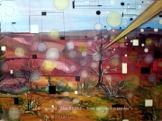 tableau scene de genre foudre jupiter orage alain faure en peint : COUP DE FOUDRE