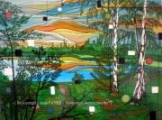 tableau paysages sologne romance nature alain faure en peint : ROMANCE SOLOGNOTE