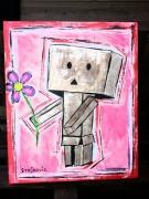 tableau personnages danbo manga enfant cadeau : Danbo