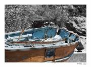 photo nature morte barque corse : Perception 050