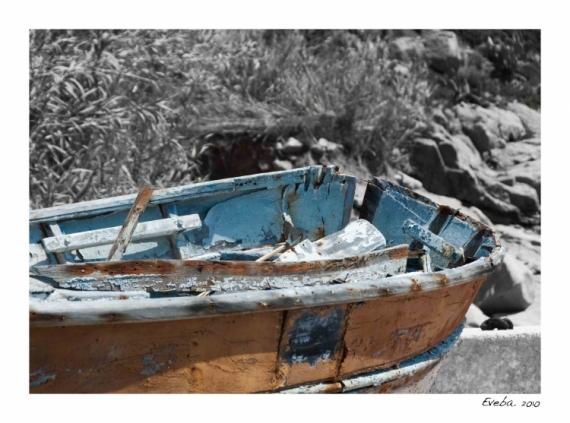 PHOTO barque Corse Nature morte  - Perception 050