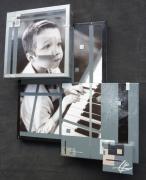 tableau personnages reliefs superpositions 3d tableaux : BASIC - PETIT GARCON AU PIANO