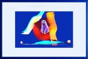 art numerique animaux chat apophysis photoshop cadre : ATTRIBUTS DU CHAT