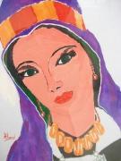 tableau personnages oriental femme missour maroc : Femme de Missour