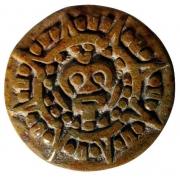 sculpture autres maya : calendrier Maya