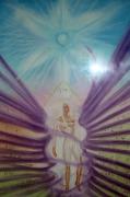 dessin autres ange celeste kabbale energie : 'étoile bleue