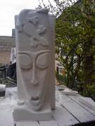 sculpture personnages the lezard masque : The Lézard-masque