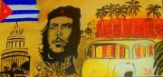 tableau personnages cuba revolution histoire portrait : CHE GUEVARA by SLN