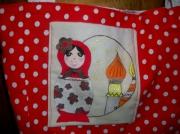 art textile mode personnages matriochka sac russie : Sac Matriochka