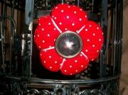 art textile mode fleurs : Broche fleur