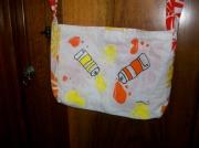 art textile mode autres sac peinture orange : Sac tube de peinture
