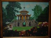 tableau paysages : pavillon chinois