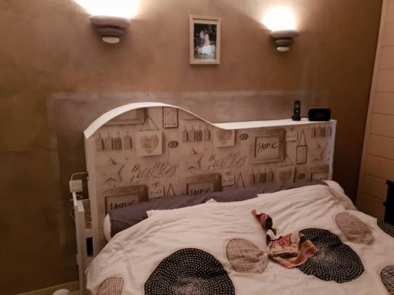 ARTISANAT D'ART  - tête de lit