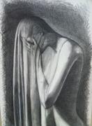 dessin nus dessin femme nue dessin de drape dessin au crayon transparence dessin : Le drapé