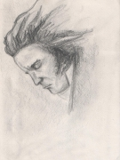 dessin personnages portrait beethoven : Portrait Beethoven