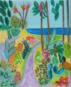 tableau paysages printemps exotique : Printemps exotique