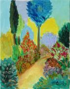 tableau paysages printemps : Printemps à Sussargues