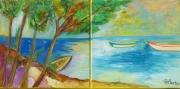 tableau marine marine languedoc : marine languedocienne