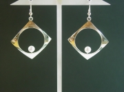 bijoux boucles perle : Boucles d'oreille perle de culture