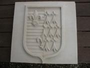 sculpture architecture blason pierre de taille sculpture : Blason Anne de Bretagne