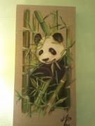 tableau animaux panda : panda