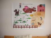 autres animaux animaux ferme fresque enfant : les animaux de la ferme