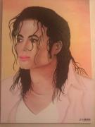 tableau personnages mickael jackson tableau peinture : Mickael Jackson