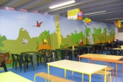 autres animaux fresque park jungle savane : anatole park
