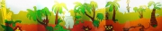 deco design animaux fresque jungle animaux mural : fresque