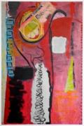 tableau abstrait : A Nous Paris