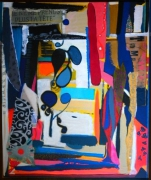 tableau abstrait : Melody